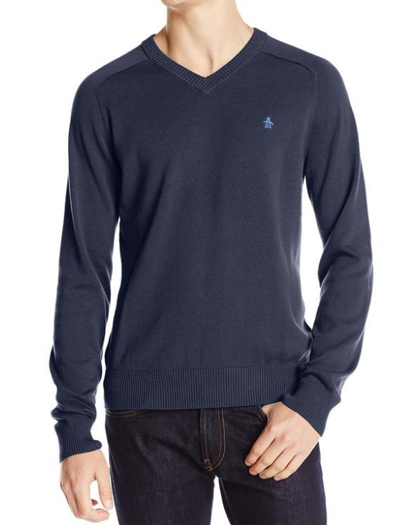 Original Penguin Men's Long-Sleeve Sweater