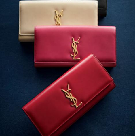 Get $250 Gift Card with YSL Clutch of$1000 or More @ Neiman Marcus