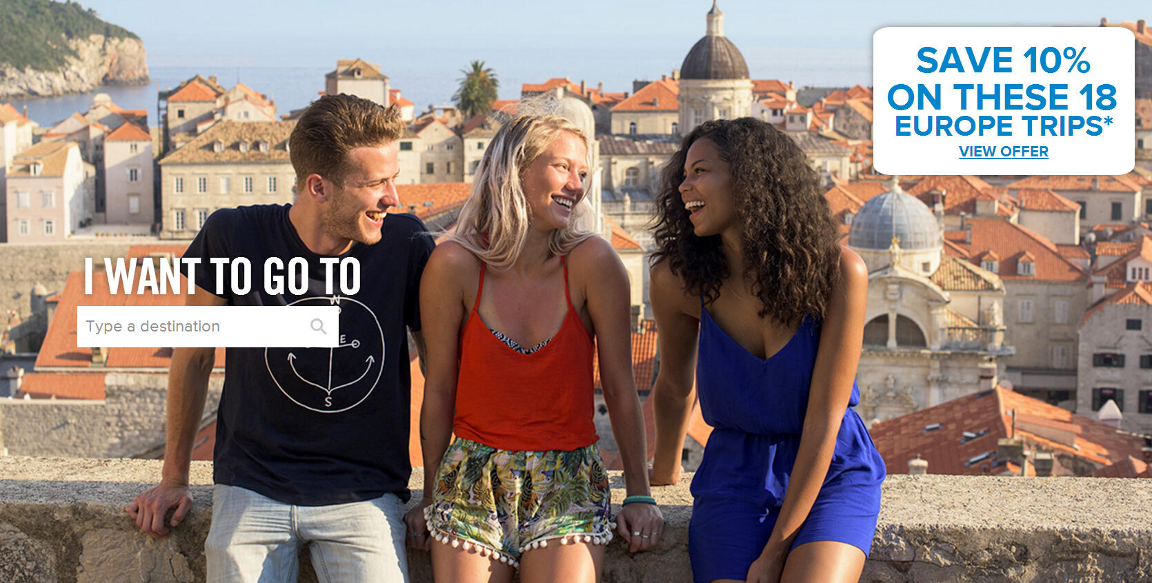 Save 10% on these 18 Europe TripsTour Deals