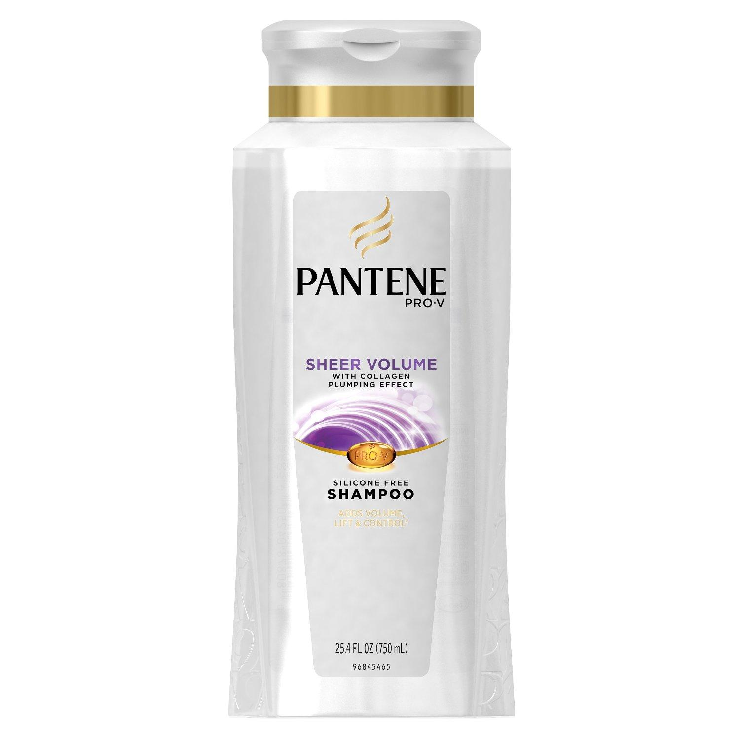 Pantene Pro-V Volume Shampoo,25.4 Fluid Ounce (Pack of 3)