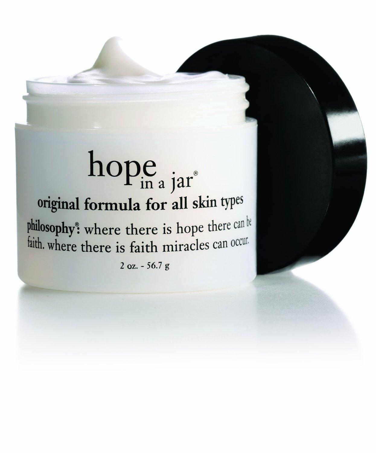 Free Full Size 'Hope in a Jar' Moisturizer With Any $45 Order @ philosophy