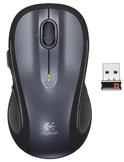 Logitech M510 Wireless Laser Mouse - Silver/Black