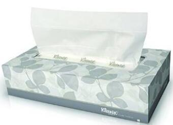 Kleenex Facial Tissue (21606), Flat Tissue Boxes, 48 Boxes / Case, 125 Tissues / Box