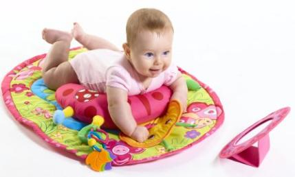 Tiny Love Tummy Time Fun Activity Mat, Ladybug @ Amazon