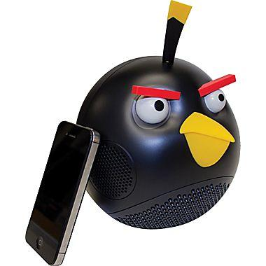Angry Birds Black Bird 2.1 Speaker System