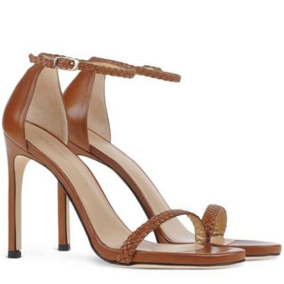 Stuart Weitzman Barebraid High Heel Sandals