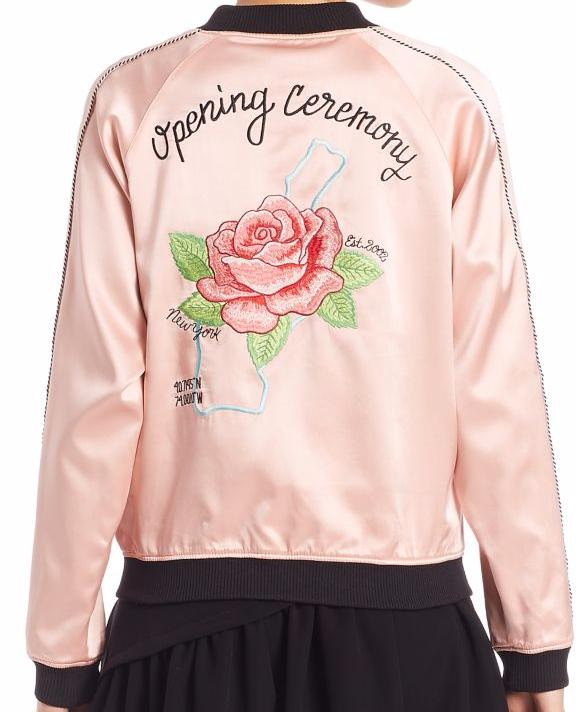 $525 Pre-Order the Opening Ceremony Silk Jacket @ Saks Fifth Avenue