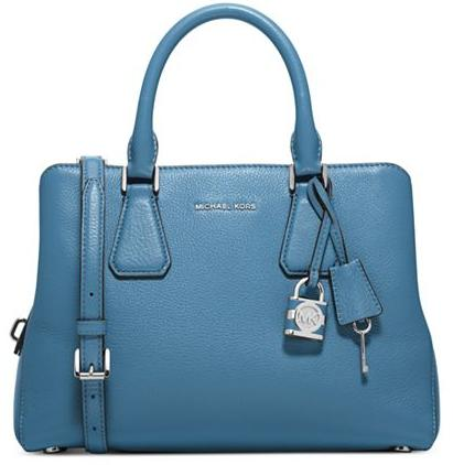 MICHAEL Michael Kors Camille Medium Satchel Sale @ macys.com