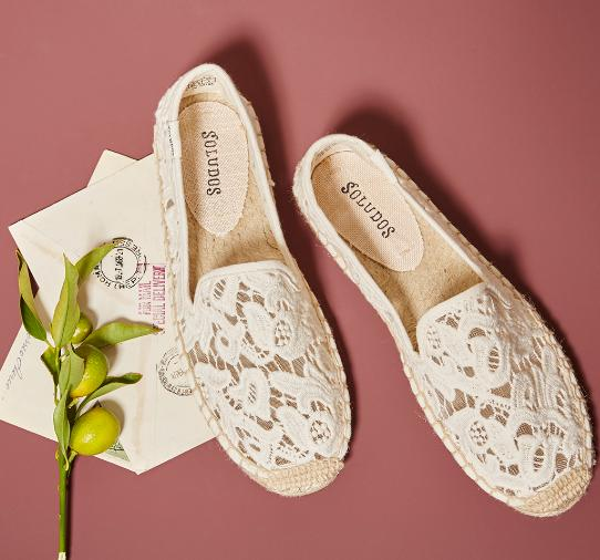 $52.99 Soludos Smoking Slipper Tulip Lace On Sale @ 6PM.com