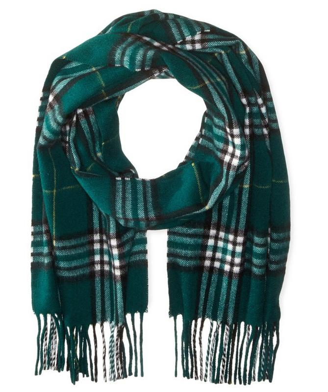 $21.85 Phenix Cashmere Men's Tartan Plaid Scarf