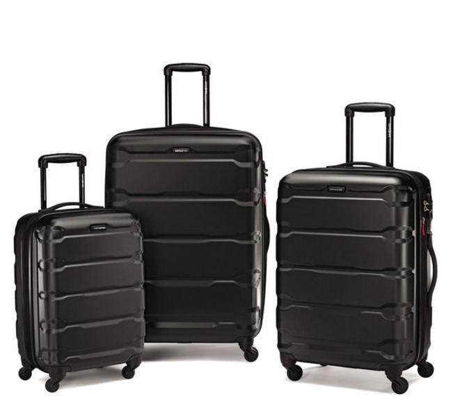 From $268.09 Samsonite Omni PC 3 Piece Set Spinner 20 24 28