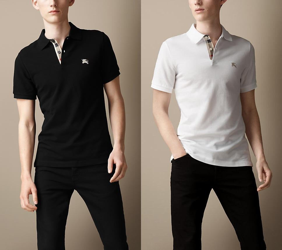 Burberry Brit Short Sleeve Slim Fit Polo Sale @ Bloomingdales