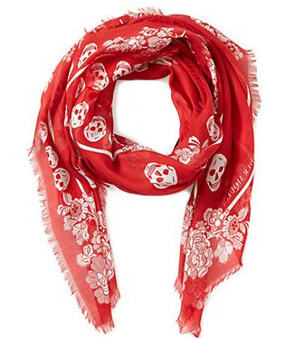 All For $99.99 + Up to 75% Off Alexander McQueen Scarves On Sale @ Rue La La