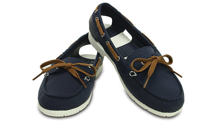 Crocs Women's Beach Line Hybrid Boat Shoe