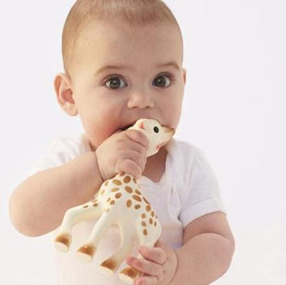 Vulli Sophie the Giraffe Teether @ Amazon