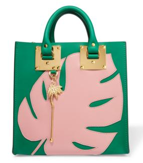SOPHIE HULME Albion appliquéd leather tote