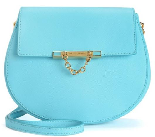 $59.99 LEATHER MINI J CROSSBODY BAG On Sale @ Juicy Couture
