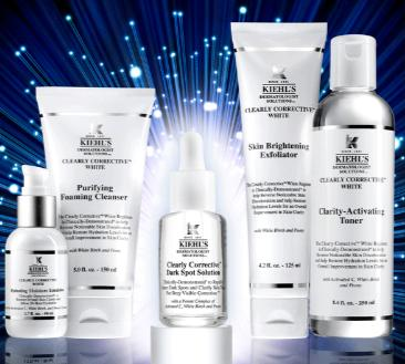 20% Off+3 Free Samples Clearly Corrective Collection @ Kiehl's