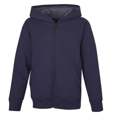 Hanes Boys' Fleece Zip Hood with Media Pocket