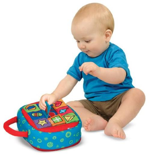 Melissa & Doug K's Kids Take-Along Shape Sorter Baby Toy @ Amazon