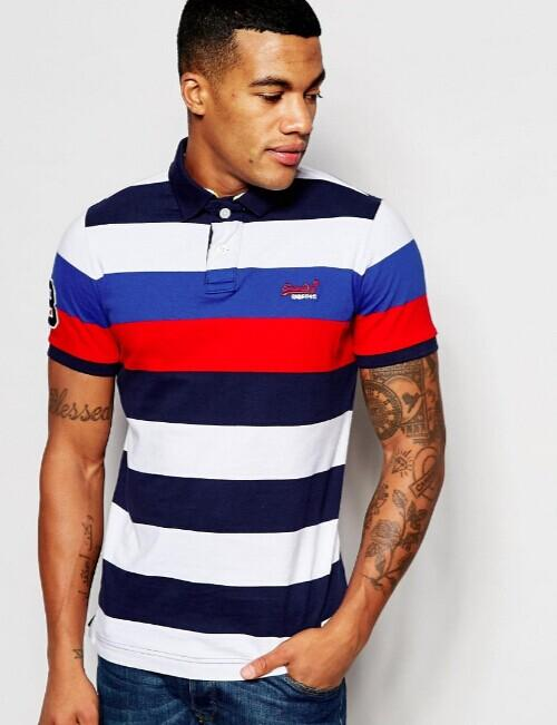 2 For $65 on Selected Men's Polos @ Superdry