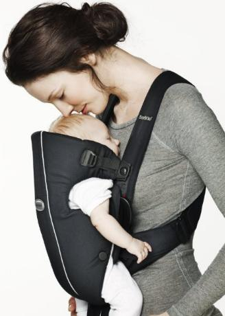 BABYBJORN Baby Carrier Original - Black/Pinstripe, Classic @ Amazon