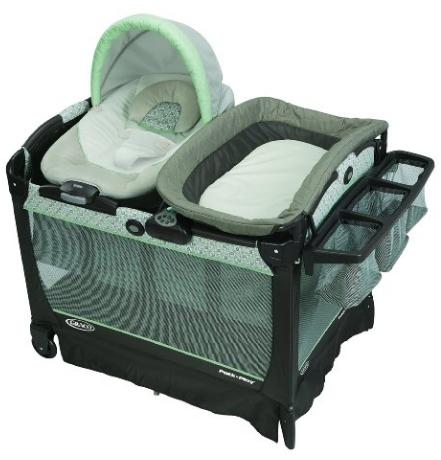 Graco Pack 'n Play Playard Snuggle Suite ,Zander @ Amazon