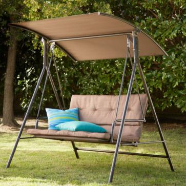 Outdoor Oasis 2-Seater Cushion Swing