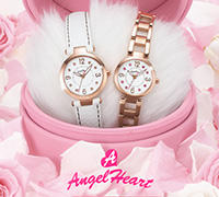 Extra 15% Off From $97.70 Angel Clover/Angel Heart Watch @ Amazon Japan