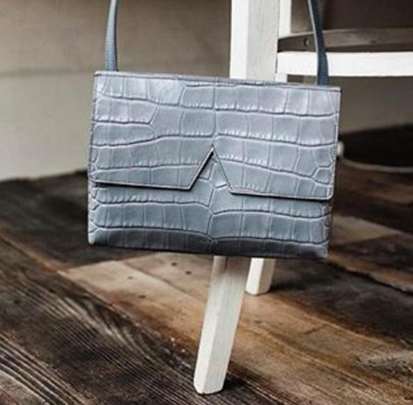 $158.98 Vince 'Small' Croc Embossed Leather Crossbody Bag On Sale @ Nordstrom