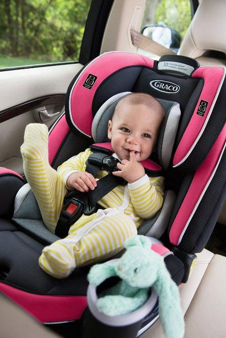 Lowest price! $229.99 Graco 4Ever All-in-One Convertible Grey Car Seat
