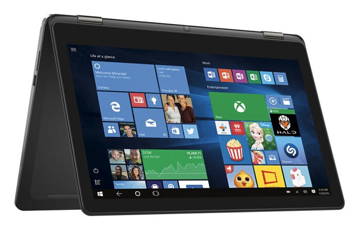 """$699 Dell Inspiron 2-in-1 15.6"""" 4K Ultra HD Touch-Screen Laptop"""