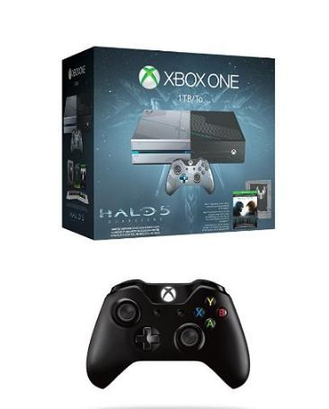$379.00 Xbox One 1TB Halo 5 Limited Edition Bundle with Xbox One Wireless Controller