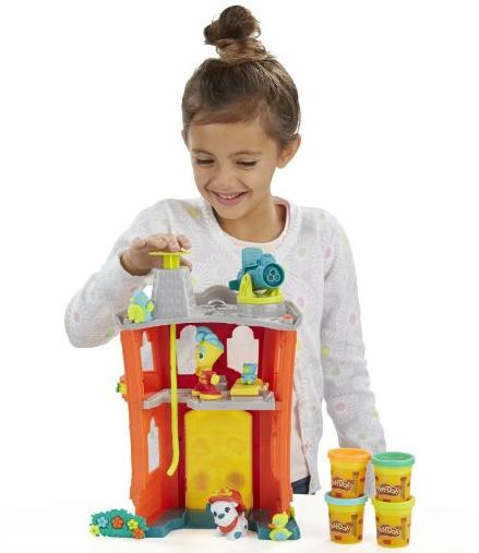 Play-Doh Town Firehouse @ Amazon