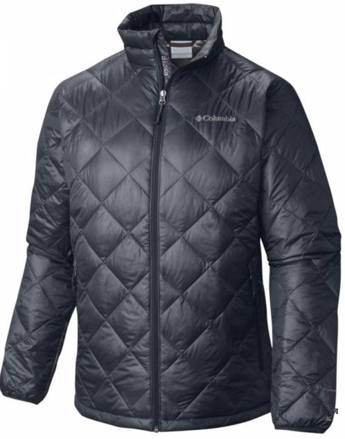 Columbia Men's Gold 650 Turbodown Diamond Quilt Jacket