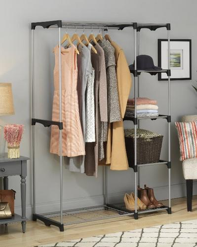 $38.99 Whitmor 6779-3044 Double Rod Closet, Silver