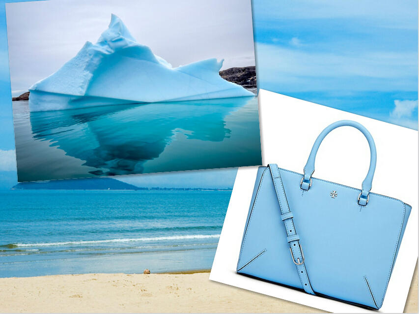 Up to 40% Off Handbags & Wallet in Iceberg @ Tory Burch
