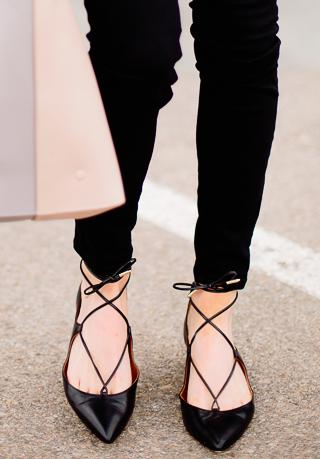 Up to $175 Off Aquazzura Flats Purchase @ Saks Fifth Avenue