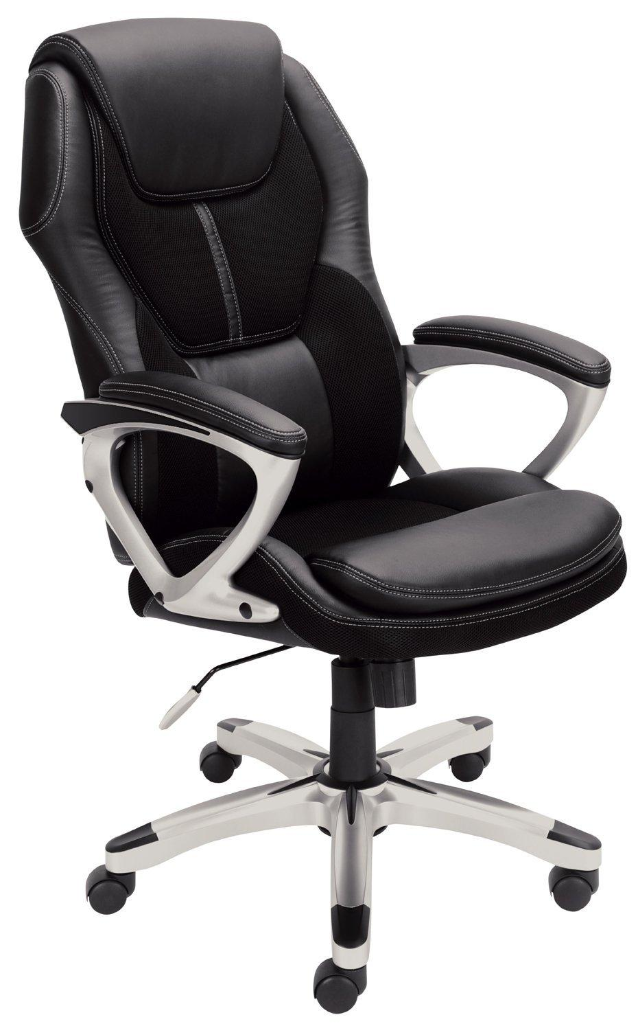 Serta Faux Leather & Mesh Executive Chair