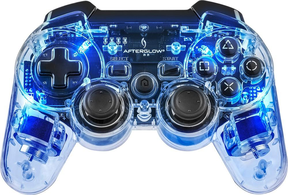 $14.99 Afterglow AP.2 Wireless Controller for PlayStation 3 - Blue/Red/Green