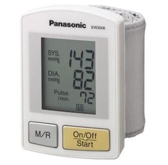 Panasonic Wrist Monitor with Hypertension Alert EW3006S