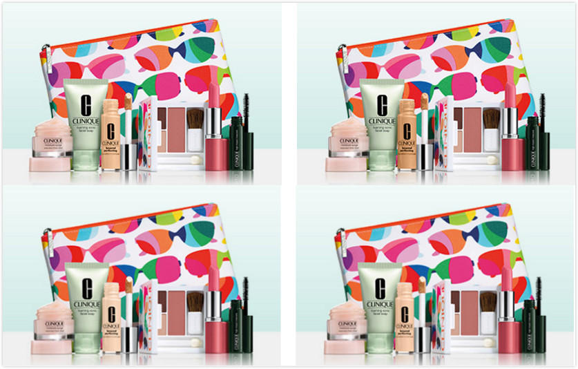 Choose from Four FREE 20 Pc Gifts with your $27 Clinique Purchase @ Nordstrom