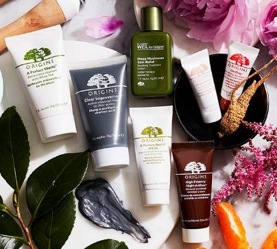 Free 7 Pc Gift with $50 Purchase @ Origins!