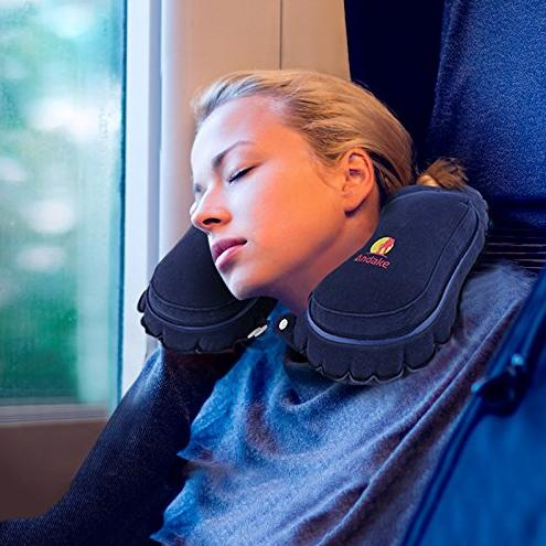$5.99 Andake Travel Pillow-Blow Up