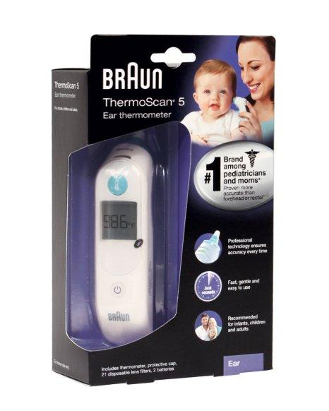 Braun Ear Thermometer IRT6500US