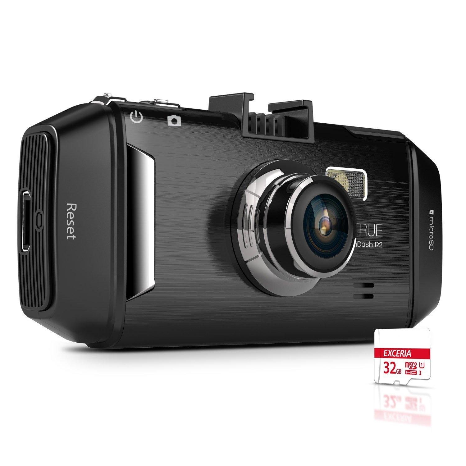 Vantrue R2 Dash Cam 2K Ultra HD 2.7