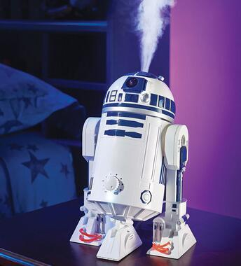 $30.81 Star Wars R2D2 Ultrasonic Cool Mist Personal Humidifier, 7.8
