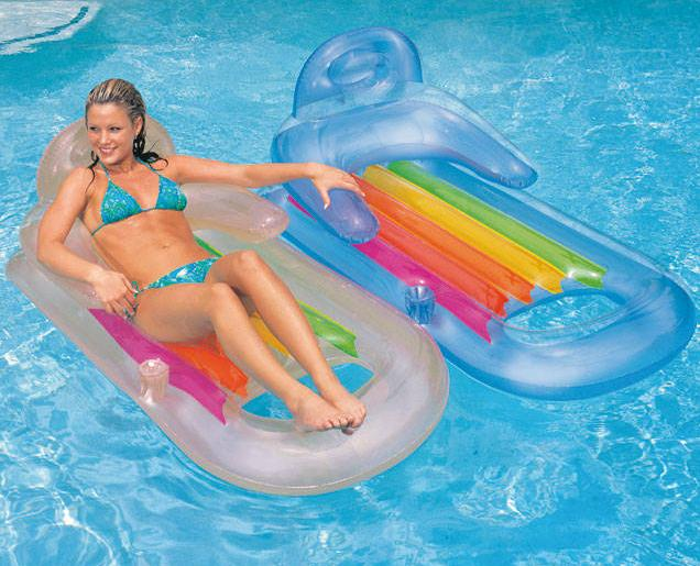 Intex King Kool Inflatable Lounge, 63