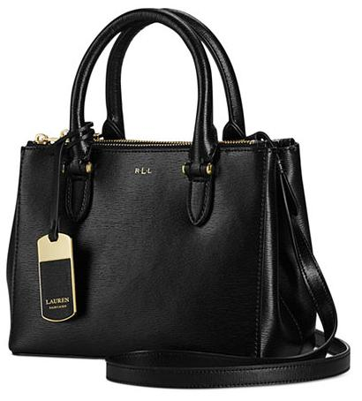 Lauren Ralph Lauren Newbury Mini Double Zip Satchel