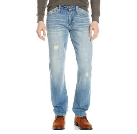$49.50 Lucky Brand Men's 221 Original Straight-Leg Jean In Kunzite